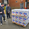 James Neiss/staff photographerNiagara Falls, NY -  Brian McDonald, right, gets a lesson in pallot moving from grocery supervisor Kieran Stitt at Sam's Club. Clients at Opportunities Unlimited of Niagara shadowed employees at Sam's Club as part of Disability Mentoring days there in celebration of National Disability Employment Awareness Month.