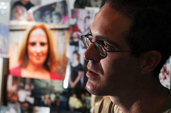 James Neiss/staff photographerNiagara Falls, NY - Scott Martin, said murder victim Loretta Gates blessed him with two beautiful children.