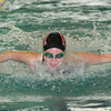 James Neiss/staff photographerNiagara Falls, NY - Niagara Wheatfield swimmer Marissa Watroba won the Girls 100 Yard Butterfly during the NFL Championship Finals at Niagara Falls High School.