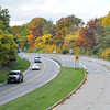 James Neiss/staff photographerNiagara Falls, NY - Cars head toward Lewiston on the Robert Moses Parkway near Whirlpool State Park. New York State Parks is releasing the results of the Project Scoping Report that may determine the fate of the north section of the Robert Moses Parkway between Lewiston and Niagara Falls.
