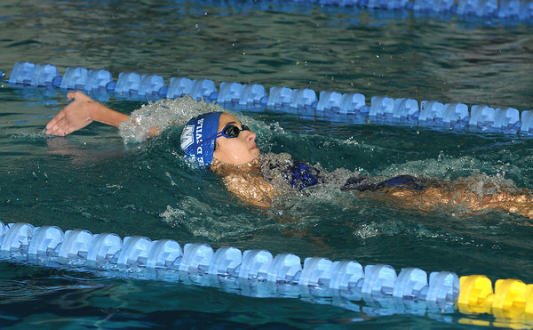 James Neiss/staff photographerNiagara Falls, NY - Kenmore West swimmer Anita Alvarez won the Girls 200 Yard IM at the NFL Championship Finals at Niagara Falls High School.