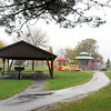 James Neiss/staff photographerNiagara Falls, NY - New walking paths, pavilions and a playground are part of the $6 million upgrade at Reservoir State Park funded by NYPA as part of their relicensing agreement.