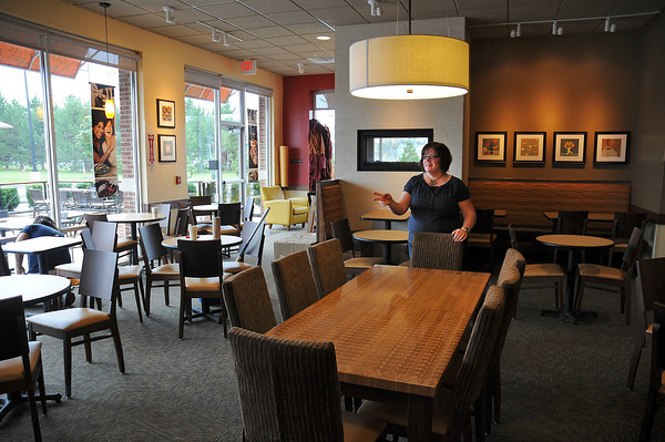 James Neiss/staff photographerNiagara Falls, NY - Niagara Falls Panera Bread General Manager Patty Shanley, said the Military Road restaurant is ready for opening day on Wednesday morning at 6 a.m. The first 120 in the restaurant will get a free travel mug, said Shanley.