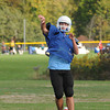 James Neiss/staff photographerNiagara Falls, NY - Grand Island football player Dan Blocho passes the ball during practice.