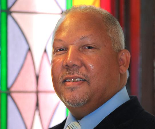 James Neiss/staff photographerNiagara Falls,  NY - The Rev. Bruce D. Points, Sr., is the new pastor of St. John A.M.E Church.