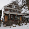James Neiss/staff photographerNiagara Falls, NY - This condemned home on 4th Street needs a little support to keep it's porch roof up.