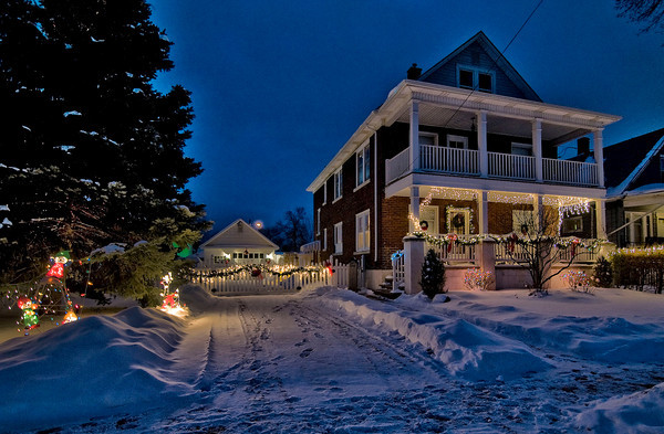 James Neiss/staff photographerNiagara Falls, NY - The 2013 Holiday Decorating/Lighting Competition winner in the Zone 3  South End is 2513 Ferry Avenue. The contest is sponsored by the Niagara Beautification Commission and Niagara Gazette.