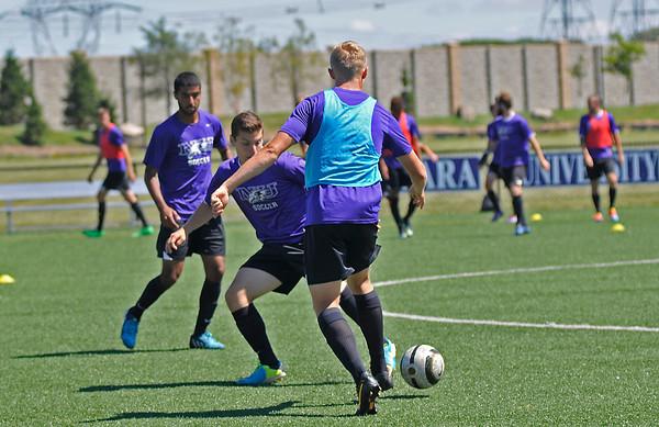 140827 NU soccer 2