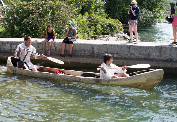 140826 Ft. Niagara Canoe 2