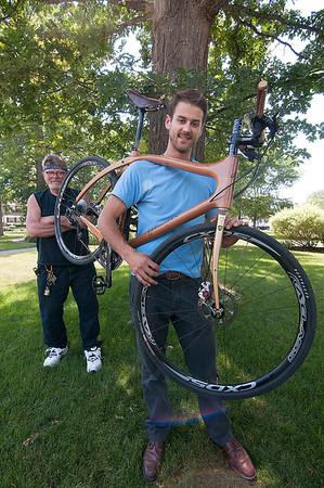 150729  Wood Bicycle