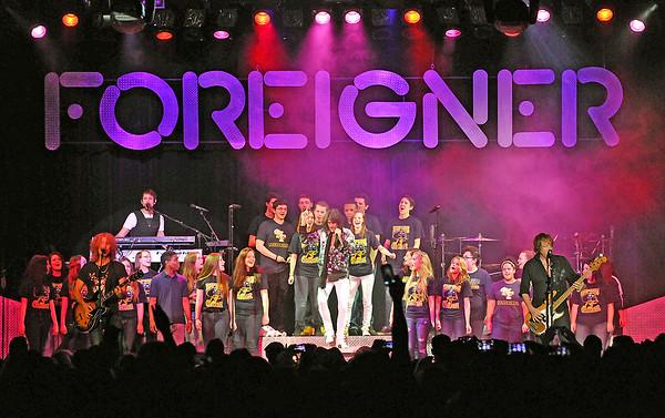 150221 NFHs choir/ Foreigner