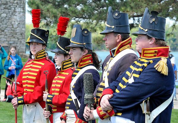 150522 Fort Niagara flag 5