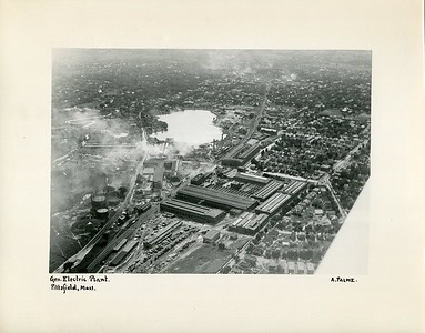 Aerial photos  of General Electric in Pittsfield from The Berkshire Eagle library