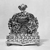 Menorah made by Myer Myers, New York City, 1760 from the Hahn Collection of Silver at the Berkshire Museum.