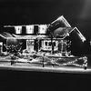 Christmas lights, home of Walter Stojda, 37 East Raod, Adams. Uundated photo by Mark Mitchell