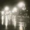 Downtown Lee, Ma, December 20, 1971. Christmas lights.