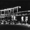 Christmas lights, home of Greg Gundler, Mohawk Trail, North Adams.  Undated Photo by Mark Mitchell
