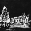 Christmas Decorations, house of Norman Gazaille, Spring Road, Adams. Undated photo by Mark Mitchell