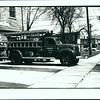 Mimico Fire Dept.  Pumper 3,  1954<br /> <br /> Photo by J.V. Salmon<br /> <br /> From the collection of Jon Lasiuk