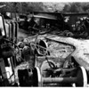 Accidents - Auto<br /> NYSEG Coal Train wreck between Old Niagara Road and Rt. 104 in town of Lockport.<br /> Photo - By John Kudla - 6/24/1986.