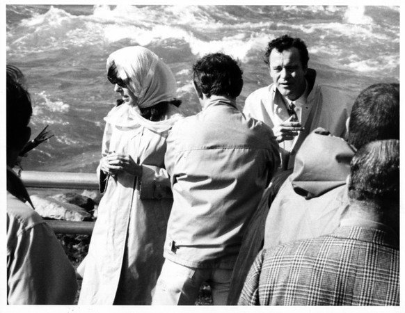 "Niagara Falls - Films<br /> Movie ""lLuv""<br /> Photo - By L. C. Williams - 9/6/1966."