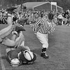 Football at Williams College, November 1957. Photo by William Tague