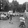 Pittsfield High School football practice, circa 1960.