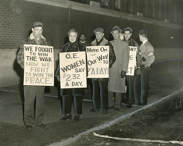 General Electric 1946 strike in Pittsfield from The Berkshire Eagle library
