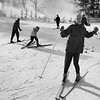 Ski scene, December, 1958. Photo by William Tague