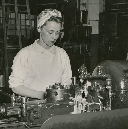 Historic photos of people at General Electric in Pittsfield from The Berkshire Eagle library