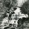 Money Brook Falls, Mount Greylock, 1939. Photo by Arthur Palme.