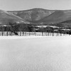 View of Mount Greylock, February 1961. Photo by William Tague.