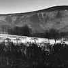 View of Mount Greylock, January 1960. Photo by William Tague.