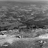 View of Adams from the summit of Mount Greylock, August, 1957. Photo by William Tague.