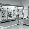 Thomas G. Smith poses in the newly revamped mineral room at the Berkshire Museum in Pittsfield, June 13, 1978.