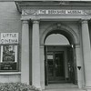 Entrance to the Berkshire Museum in Pittsfield, June 1989. Photo by Joel Librizzi