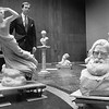 Berkshire Museum Director Barry Dressel, January 18, 1991.