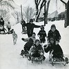 March 7, 1967 snowstorm, the first weather holiday for Pittsfield Schools since 1958. More than 12 inches of snow smothered Berkshire County. Absenteeism was reported high in industrial and retail businesses in the county. Stalled cars caused delays in getting city streets cleared of snow. Photo by Joel Librizzi.
