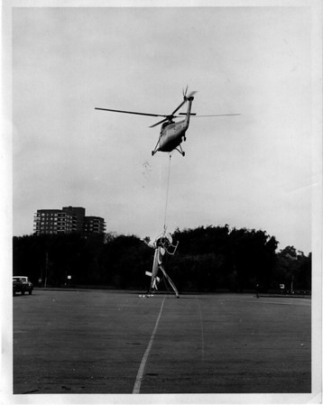 Niagara River Rescue Helicopter Oct 8, 1973