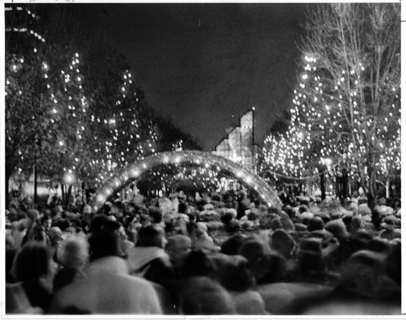 Christmas - Festival of Lights<br /> Festival of Lights 1983.<br /> Photo - By John Kudla - 11/26/1983.