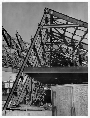 Convention center<br /> Photo - By L. C. Williams - 8/15/1972.