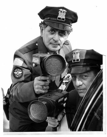 Police, NT, North Tonawanda - Radar Guns - March 27, 1980.
