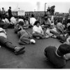 Organizations - Arrests.<br /> Arrested - Operation Rescue- Anti - Abortion demonstrators, at Sweet Home Road clinic.<br /> Photo - By Ron Schifferle - 4/22/1992.