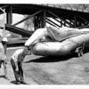 Niagara River - Raft Ride<br /> The Raft is at the Schoellkopf Geological Museum.<br /> Photo - By Niagara Gazette - 5/31/1972