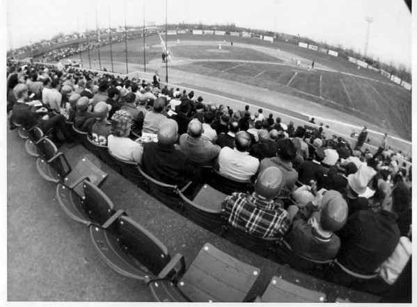 Sports - Baseball<br /> Hyde Prk Stadium.<br /> Photo - By Niagara Gazette.