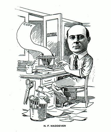 Niagara Gazette Editor N.F. Maddever