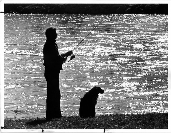 Sports - Fishing<br /> Photo - By Niagara Gazette - 3/18/1986.