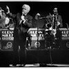 Convention center - Bookings<br /> Niagara Falls Convention and Civic Center.<br /> The Glen Miller Orchestra and Jerry Vale.<br /> Photo - By Ron Scifferle - 11/26/1989.