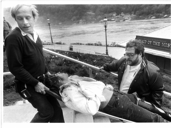 Niagara River - Rescues <br /> Richard J. Wesowski<br /> Photo - By Jim P. McCoy - 10/8/1985.