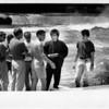 Niagara Falls, Films - David Copperfield fims illusion at falls. Ron Schifferle photo 7/31/1989.